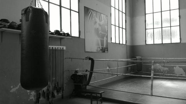 Il ring della Pugilistica Rodigina