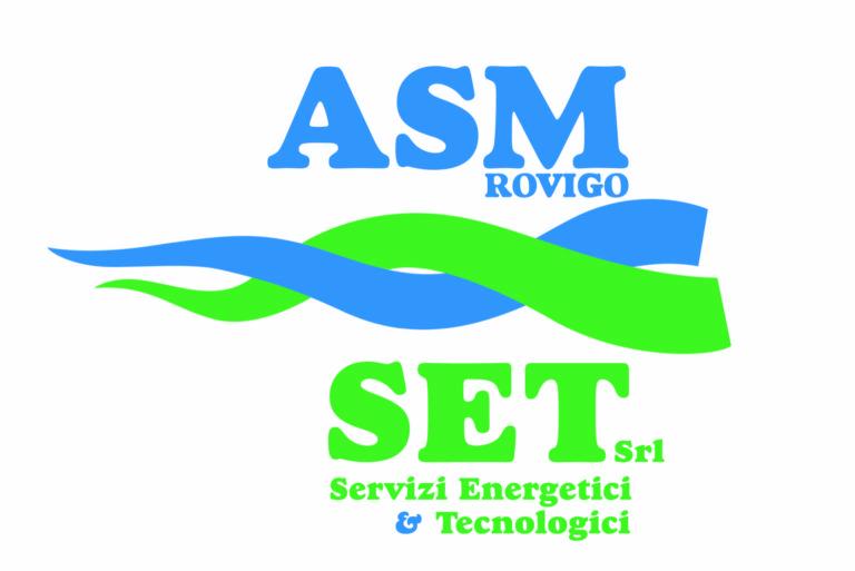 Logo ASM SET, sponsor Pugilistica Rodigina