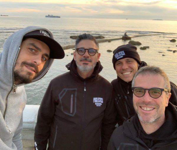 I dirigenti della Pugilistica Rodigina a Livorno per la promozione della Boxe Paralimpica